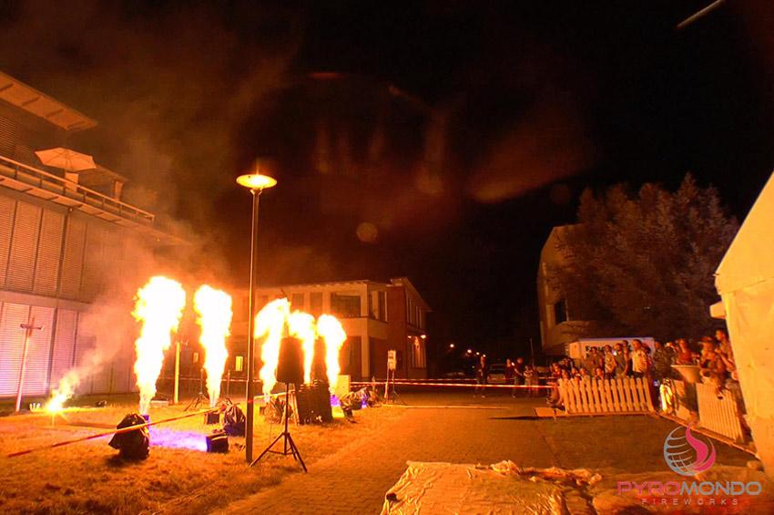 Flammenshow von Pyromondo Fireworks