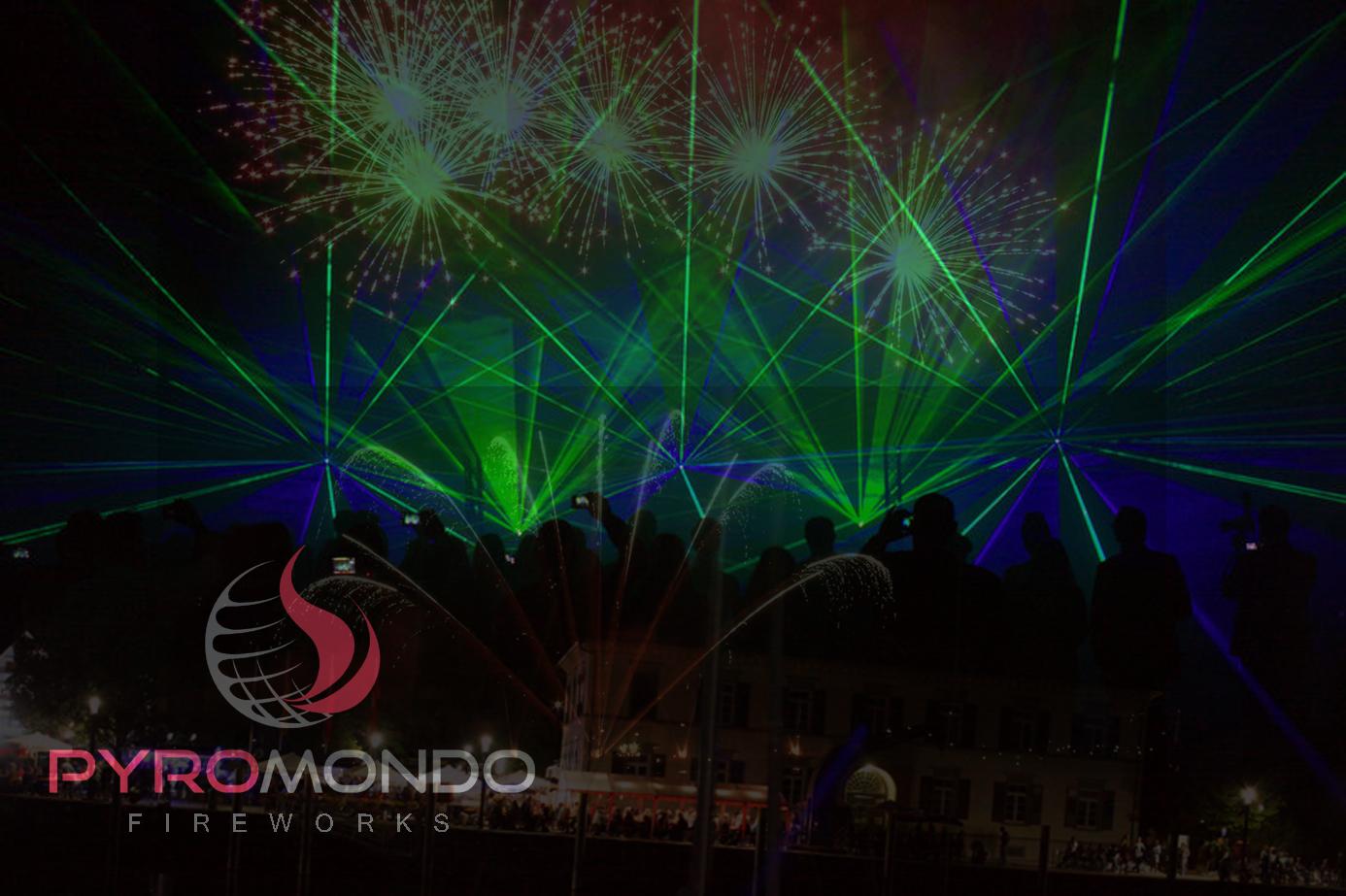 Bühnenshow - Pyromondo Fireworks