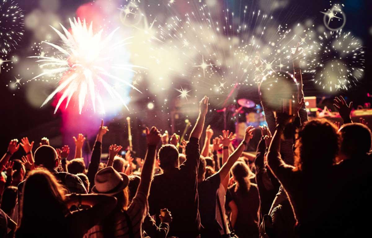 Feuerwerke für Bühnenshows & Events