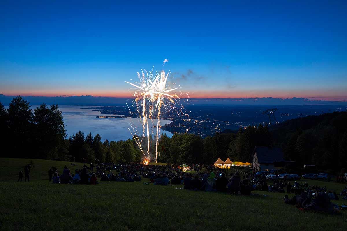 Feuerwerk für Volksfeste und Stadtfeste in der Bodenseeregion
