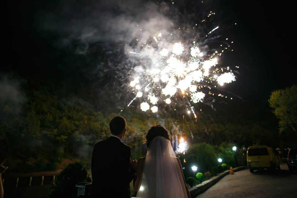 Feuerwerk mit Pyromondo für Ihre Hochzeit